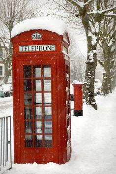 Phone box & letter box, Telegraph Hill, London - 2009.
