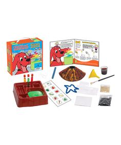 Take a look at this Clifford Kitchen Science Kit on zulily today!