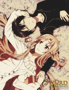 Kirito x Asuna :))