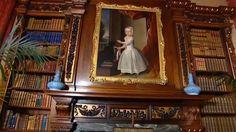 Downton Abbey Library: via Highclere Castle
