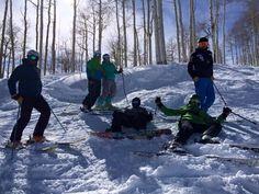 Skiing in Beaver Creek Colorado 2015