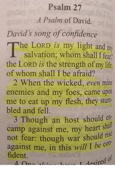 Psalm the Word of God. Prayer Scriptures, Bible Prayers, Faith Prayer, Prayer Quotes, Bible Verses Quotes, Faith In God, Faith Quotes, Bible Psalms, Powerful Scriptures
