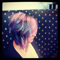 Purple! By Leslie Marie
