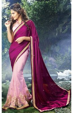 Salman khan jacqueline fernandez hot hd wallpaper bollywood look like a diva in this purple and pink chiffon and net half and half saree thecheapjerseys Images