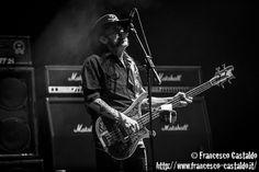 Lemmy Kilmister - Motörhead Motörhead - Ippodromo del Galoppo - Milano