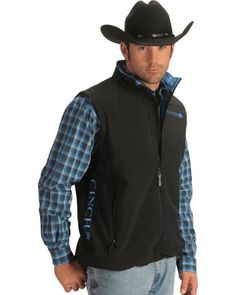 Cinch ® Logo Vest You are in the right place about Country Outfit for school . Cinch ® Logo Vest You are in the right place about Country Outfit for school Here we offer you Cowboy Outfit For Men, Cowboy Vest, Cowboy Chic, Cowboy Outfits, Cowgirl Style, Western Outfits, Western Shirts, Western Wear, Country Wear