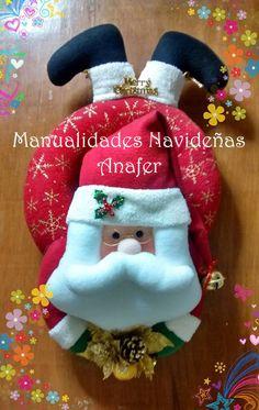 Bellos muñecos en forma de aros navideños y también patiabiertos para decorar nuestra puerta en esta Navidad. Vienen en tres diseños: Noel...