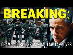 The Last Great Stand » Obama Talks Martial Law, Texas Takeover, and Conspiracy Theory