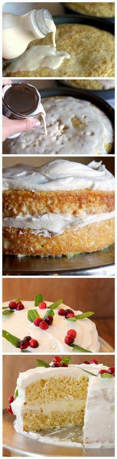 Recipe Favorite: Eggnog Tres Leches Cake