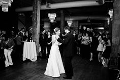 First dance shot! Photo by Kim. #minneapolisweddingphotographers #firstdance #stanthonymaineventcentre