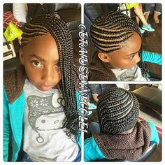 Children's Braids Black Hairstyles