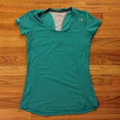 Under Armour shirt Under Armour shirt size small. Great teal/sea foam green color. Hardly worn. Under Armour Tops Muscle Tees