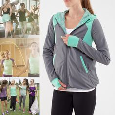 Layer up to warm-up for any sport or sweaty activity in the Flip Side Jacket