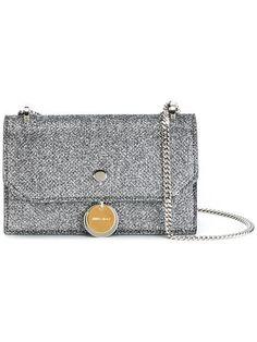 JIMMY CHOO Finley crossbody bag. #jimmychoo #bags #shoulder bags #leather #glitter #crossbody #cotton #