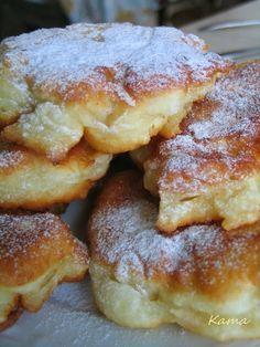 Zapachy z kuchni Kamy: RACUCHY DROŻDŻOWE Z JABŁKAMI, przepis II