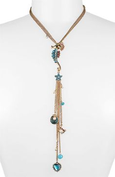 Betsey Johnson 'Sea Excursion' Long Y-Necklace available at Nordstrom