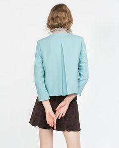 Image 6 of CREPE BLAZER from Zara