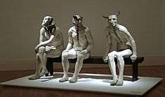 Jane Alexander's Butcher Boys is the most powerful art piece I have experienced in real life. Rock Sculpture, Lion Sculpture, Contemporary African Art, African Sculptures, Powerful Art, South African Artists, Abstract Painters, Weird Art, Rock Art