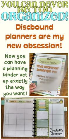 Discbound teacher planner, my new obsession!  I love setting it up just exactly the way I want!
