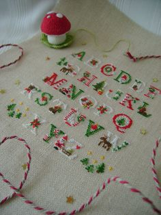 Photo_1372 Embroidery Letters, Christmas Cross, Needlepoint, Needlework, Stitching, Coloring, Cross Stitch, Felt, Kids Rugs