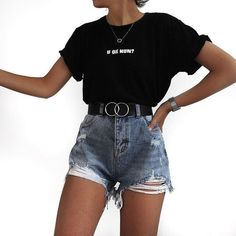 Sporty Outfits, Teen Fashion Outfits, Mode Outfits, Girly Outfits, Cute Casual Outfits, Outfits For Teens, Look Fashion, Stylish Outfits, Summer Outfits