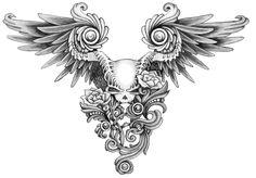anime skulls tattoos | Calaveras parte II !!!! - Taringa!