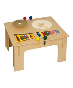 Take a look at this Natural Music Table by Little Colorado on #zulily today!