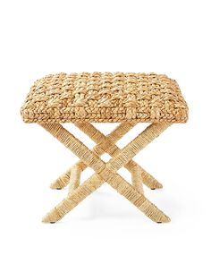 X based stool from Serena and Lily - boho decor ideas, boho living room ideas, boho bedroom ideas