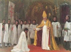 Te Equestrian Order of the Holy Sepulchre of Jerusalem - A Brief History Knights Hospitaller, Knights Templar, Knight Orders, Kingdom Of Jerusalem, Military Orders, Battle Cry, Templer, Madonna, Christians