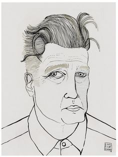 david lynch - carla fuentes [http://www.littleisdrawing.com]