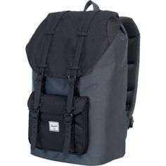 f8bcdacae284 Herschel Supply - Little America Backpack - 1465cu in - Dark  Shadow Black Black