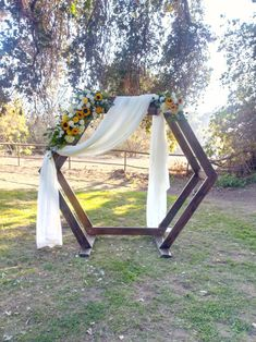 Rustic yellow and white wedding. Florals by BW Events.