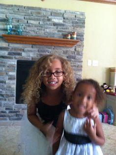 Amaya's hair looked so pretty.