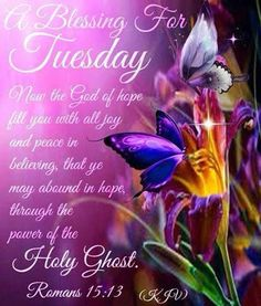 A Blessing For Tuesday  Judy