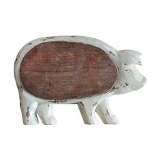 Distressed Pig Hanging Cutting Board