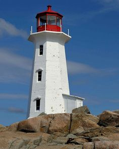 Peggy's Cove Lighthouse - Peggy's Cove, Nova Scotia I have been inside this one