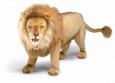Life Sized Stuffed Male Lion | $4,500