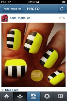 Cute nails from Instagram.