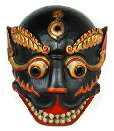 MASKS OF TEBET | ... Tibetan Deity Mask... This pine wood deity mask ... | Mask Ma