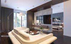 Thiết kế căn hộ mang đậm dấu ấn kiến trúc Châu Âu