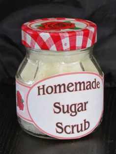 Seeking June Cleaver: DIY Sugar Scrub
