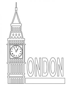 New Travel Drawing London Big Ben Ideas Colouring Pages, Coloring Pages For Kids, Coloring Sheets, Big Ben London, Packing Tips For Travel, New Travel, London Travel, Italy Travel, Travel Guide