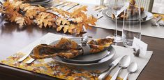 Thanksgiving Dinnerware & Decorations | Crate and Barrel