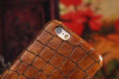 Stone pattern genuine leather case for iphone 6 4.7inch iphone 6 plus 5.5inch back cover case hot selling promotional price