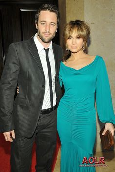 Alex O'Loughlin and Jennifer Lopez - stars of The Back Up Plan, attending the Noche de Ninos Gala May 2009 ♥♥♥♥♥