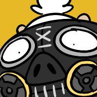 Overwatch Roadhog artwork / icon,'