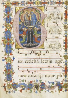 A Hymnal  The Master of 1446 (fl. second quarter 15th c)  Italy, Bologna c.1430-1440