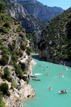 Verdon Gorge, France