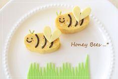 Japanese thick omelet honeybees