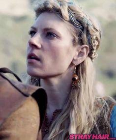 Lagertha Vikings hairstyles